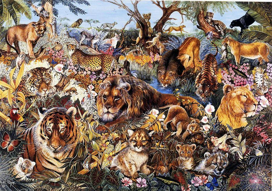 Animal Fantasia Puzzle