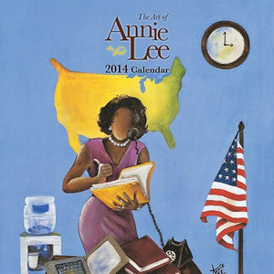 2014 Annie Lee Calendar contains the artwork of the incredible artist.  Great as a gift or pictures can be framed after use.