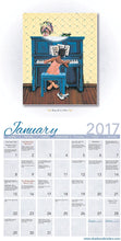 Load image into Gallery viewer, 2017 Annie Lee Calendar contains the artwork of the incredible artist.  Great as a gift or pictures can be framed after use.