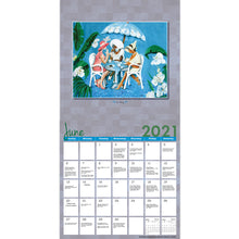 Load image into Gallery viewer, 2018 African American Wall Calendar with Genuine Black Art Matching Gift Envelope To Preserve Your Calendar Includes Black History Facts All Year Round