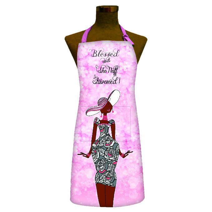 Blessed & Sho Nuff Favored Apron