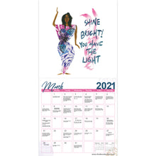 "Load image into Gallery viewer, ""2021"" Girlfriends, A Sister's Sentiments Calendar"