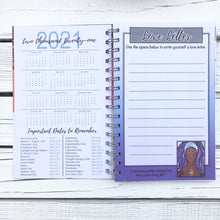 "Load image into Gallery viewer, 2021 ""I AM AUTHENTIC"" 2021 Inspirational Planner"