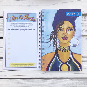 "2021 ""I AM AUTHENTIC"" 2021 Inspirational Planner"