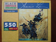 "Load image into Gallery viewer, ""Thunder Ride"" 550 Piece Annie lee puzzle Sealed New. Condition is ""New"""