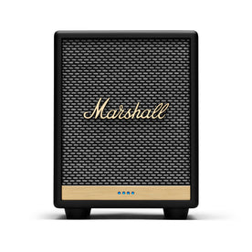 Marshall Uxbridge Voice Speaker with Google Assistant, Black