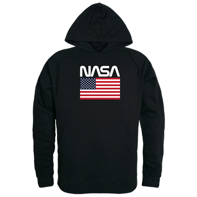 NASA And USA Flag Pullover Hoodie