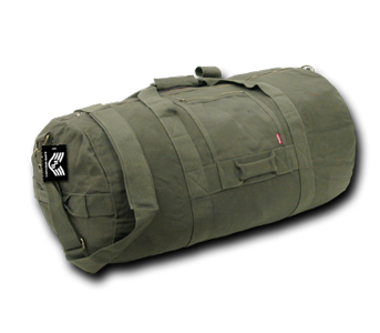 Side Zipper Duffel Bags