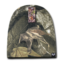 Load image into Gallery viewer, Grey Bark Camouflage Beanie