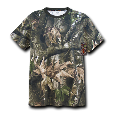 Grey Bark Camouflage T-Shirt