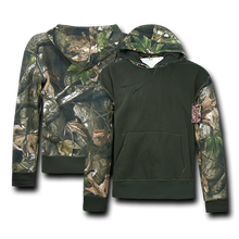 Load image into Gallery viewer, Camouflage Two Tone Pullover Hoodie