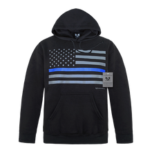 Load image into Gallery viewer, USA Flag Pullover Hoodie