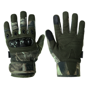 Grey Bark Camouflage Gloves