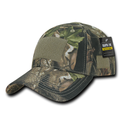 Grey Bark Camouflage Structured Tactical Caps