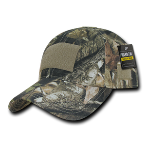 Grey Bark Camouflage Relaxed Tactical Caps