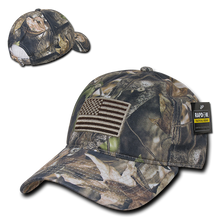 Load image into Gallery viewer, Camouflage USA Relaxed Tactical Caps