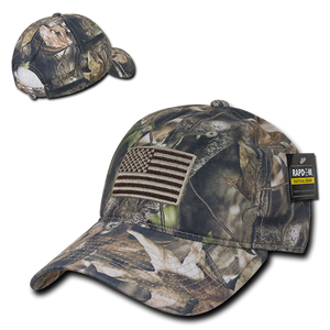 Camouflage USA Relaxed Tactical Caps