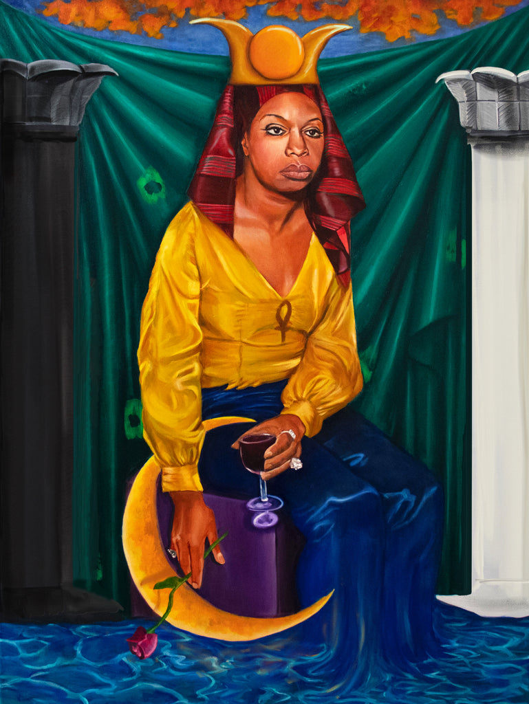 High Priestess of Soul Canvas Prints