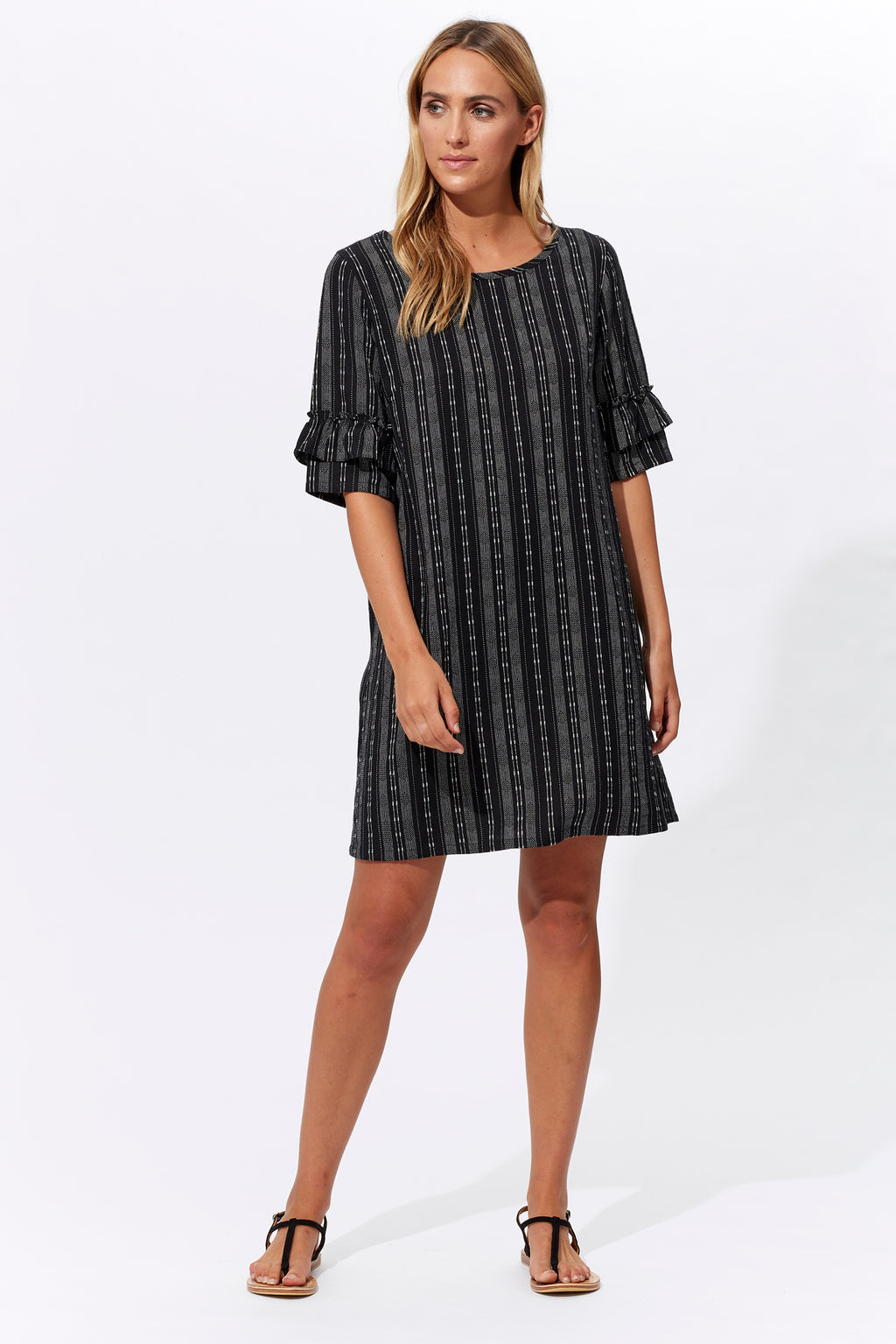 Anais Dress - Jet - Isle of Mine Clothing - Dress Mid