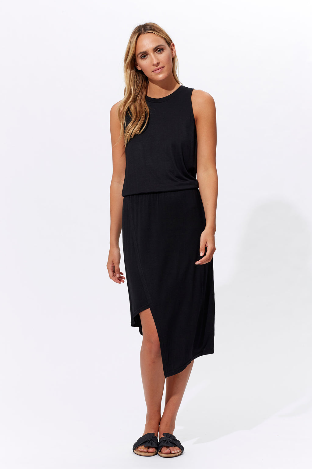 Inez Dress - Jet - Isle of Mine Clothing - Dress Mid