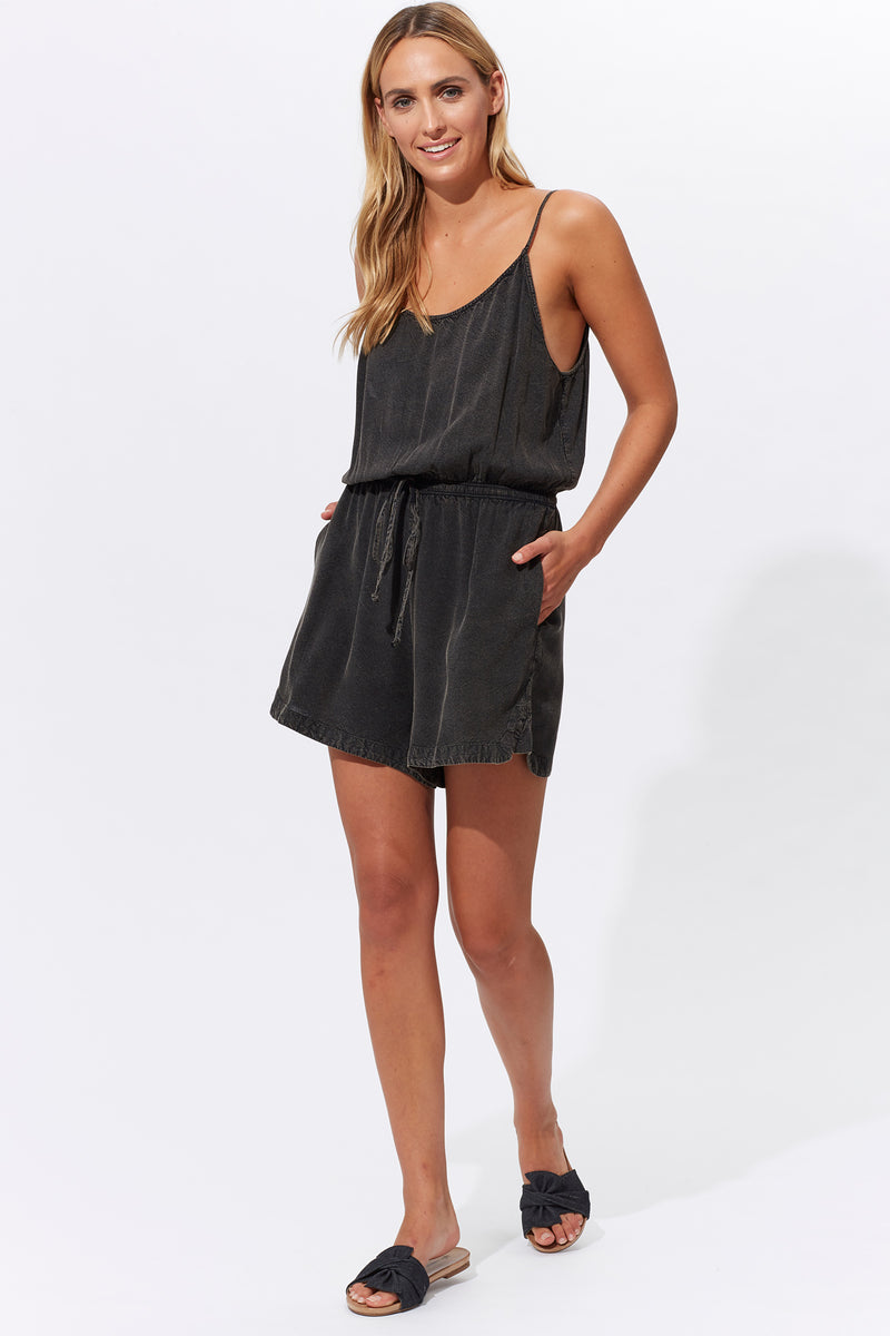 Nahla Jumpsuit - Chrome - Isle of Mine Clothing - Jumpsuit Mid