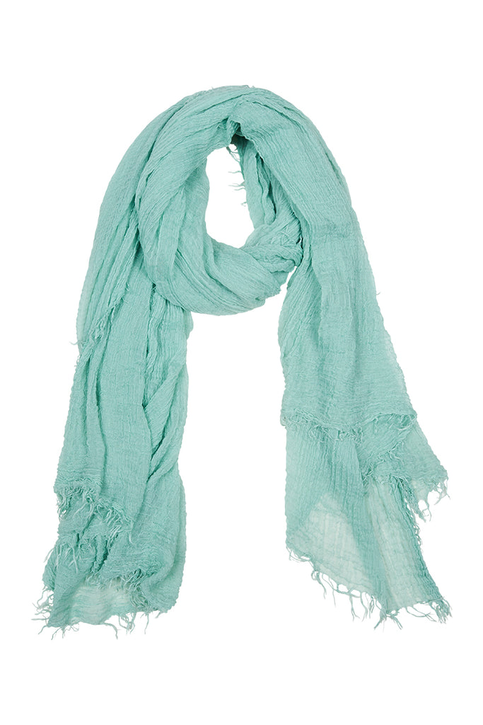 Elke Scarf - Mint - Isle of Mine Scarves