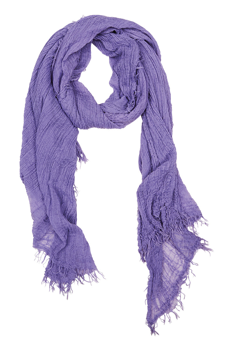 Elke Scarf - Lilac - Isle of Mine Scarves