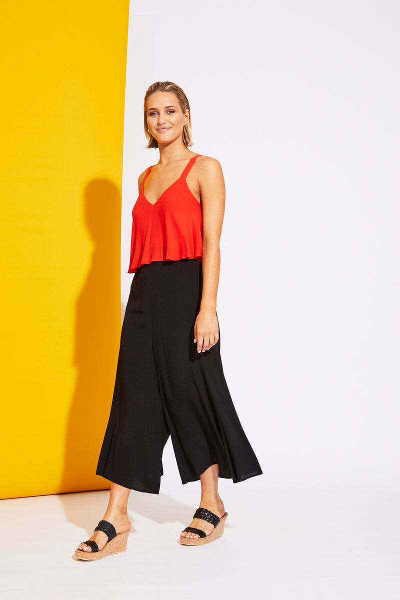 Riviera Pant - Black - Isle of Mine Clothing - Pant Relaxed