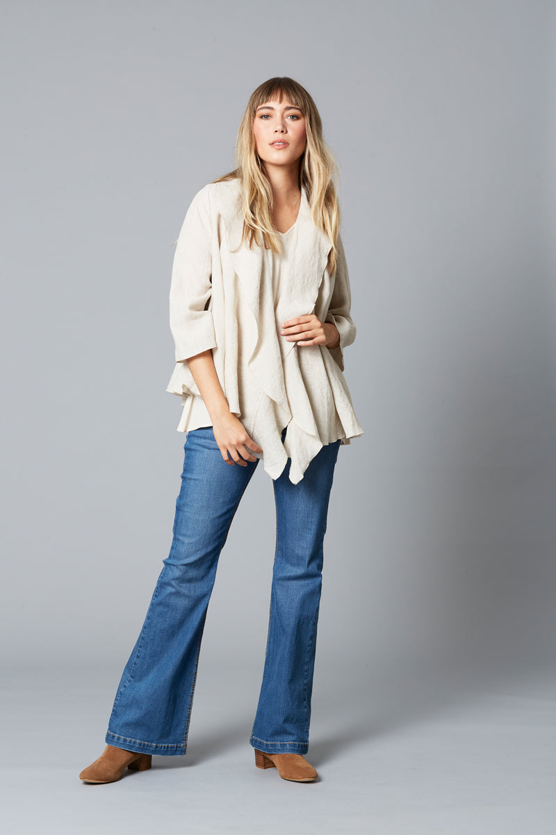 Eve Jacket - Wheat - Isle of Mine Clothing - Jacket Relaxed