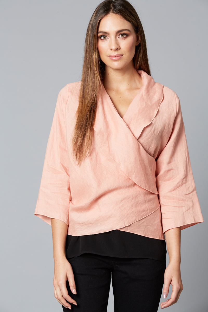 Eve Jacket - Blush - Isle of Mine Clothing - Jacket Relaxed