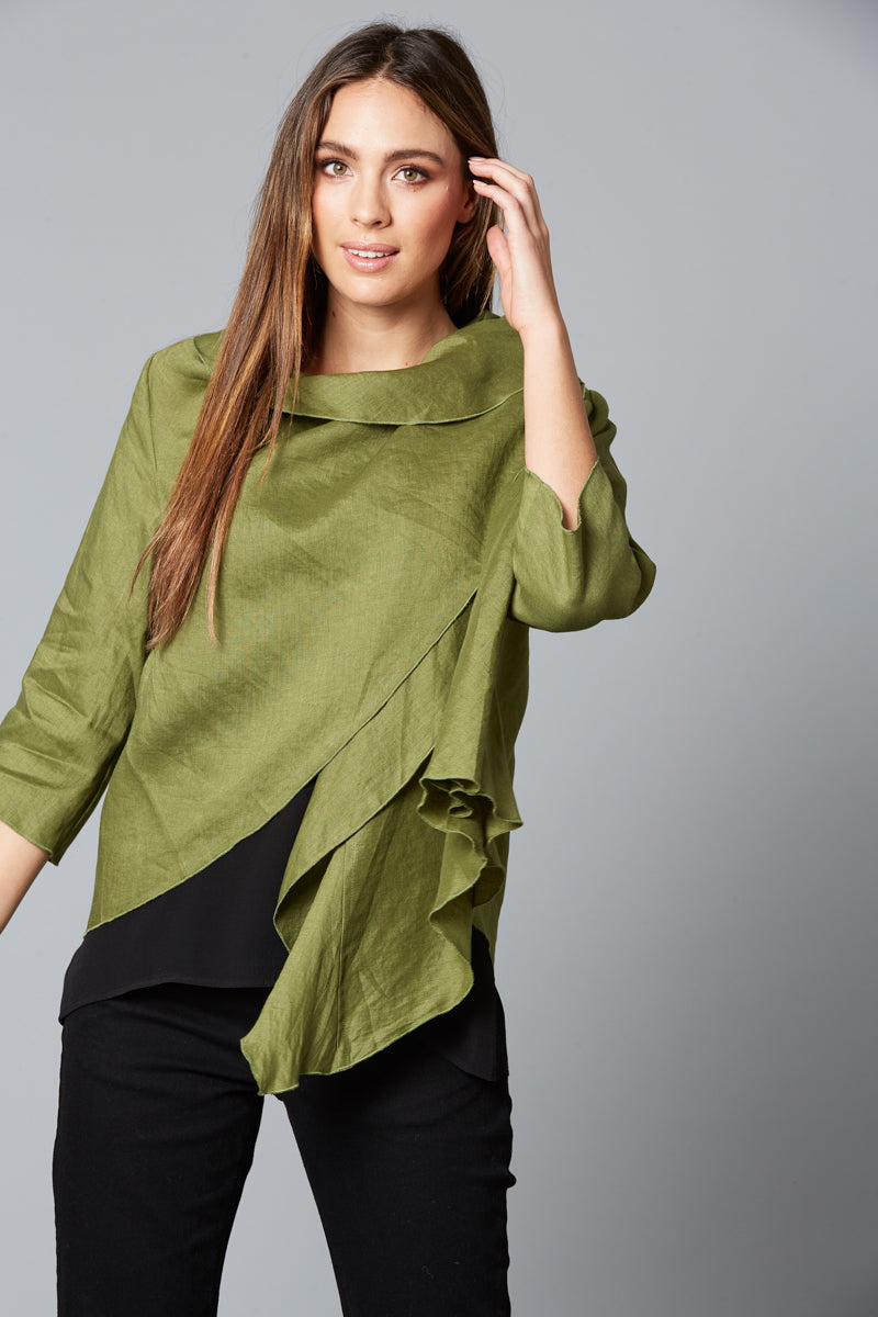 Eve Jacket - Forest - Isle of Mine Clothing - Jacket Relaxed