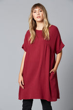 Weekender Top / Dress - Plum - Isle of Mine Clothing - Dress Mid Oversize