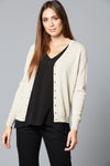 Traveller Cardigan - Ivory - Isle of Mine Clothing - Knit Cardigan