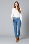 Daydreamer Legging - Denim - Isle of Mine Clothing - Pant Skinny Legging