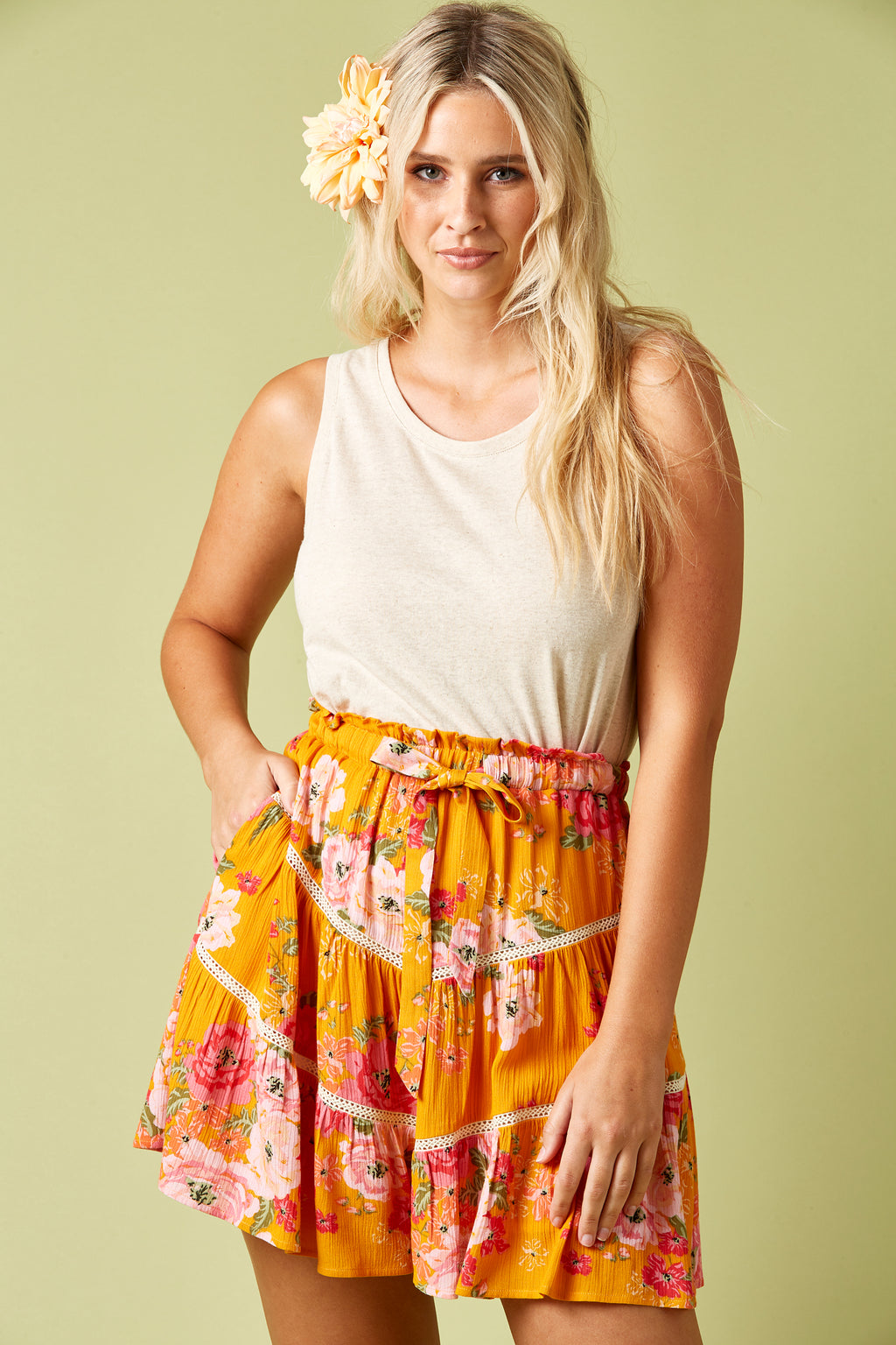 Marquis Mini - Calypso - Isle of Mine Clothing - Skirt Mini