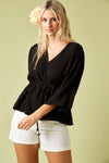 Marquis Top - Black - Isle of Mine Clothing - Top L/S