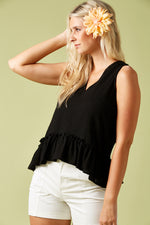 The Sails Tank - Black - Isle of Mine Clothing - Top Sleeveless