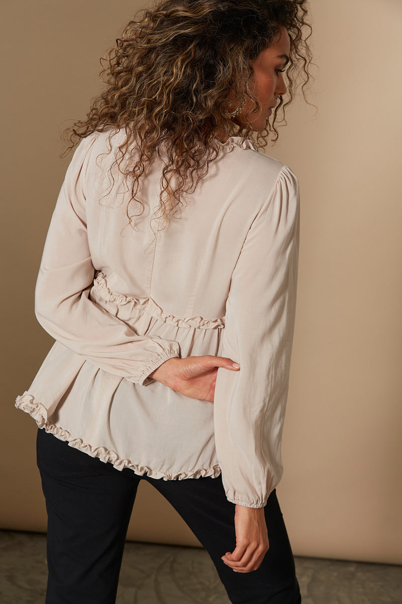 Revival Frill Top - Navajo - Isle of Mine Clothing - Top L/S