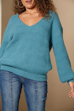 Awaken Knit - Teal - Isle of Mine Clothing - Knit Jumper