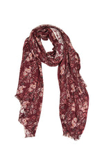 Splendour Scarf - Cherry - Isle of Mine Scarves