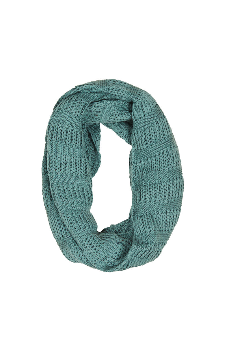 Clarity Snood - Nile - Isle of Mine Scarves
