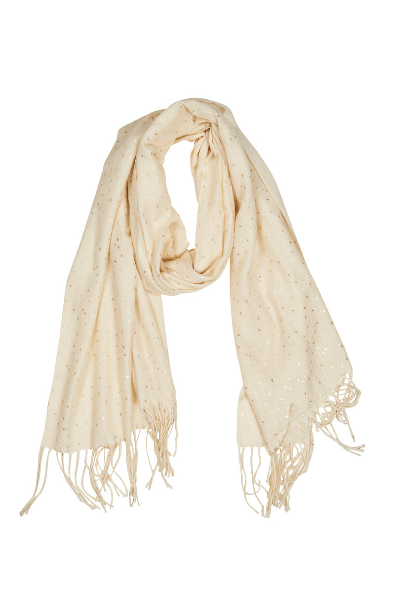 Twilight Scarf - Ivory - Isle of Mine Scarves