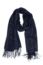 Twilight Scarf - Indigo - Isle of Mine Scarves