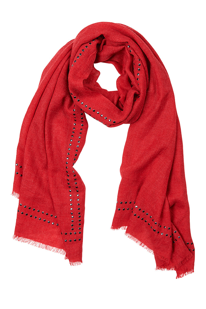 Sequoia Scarf - Cayenne - Isle of Mine Scarves