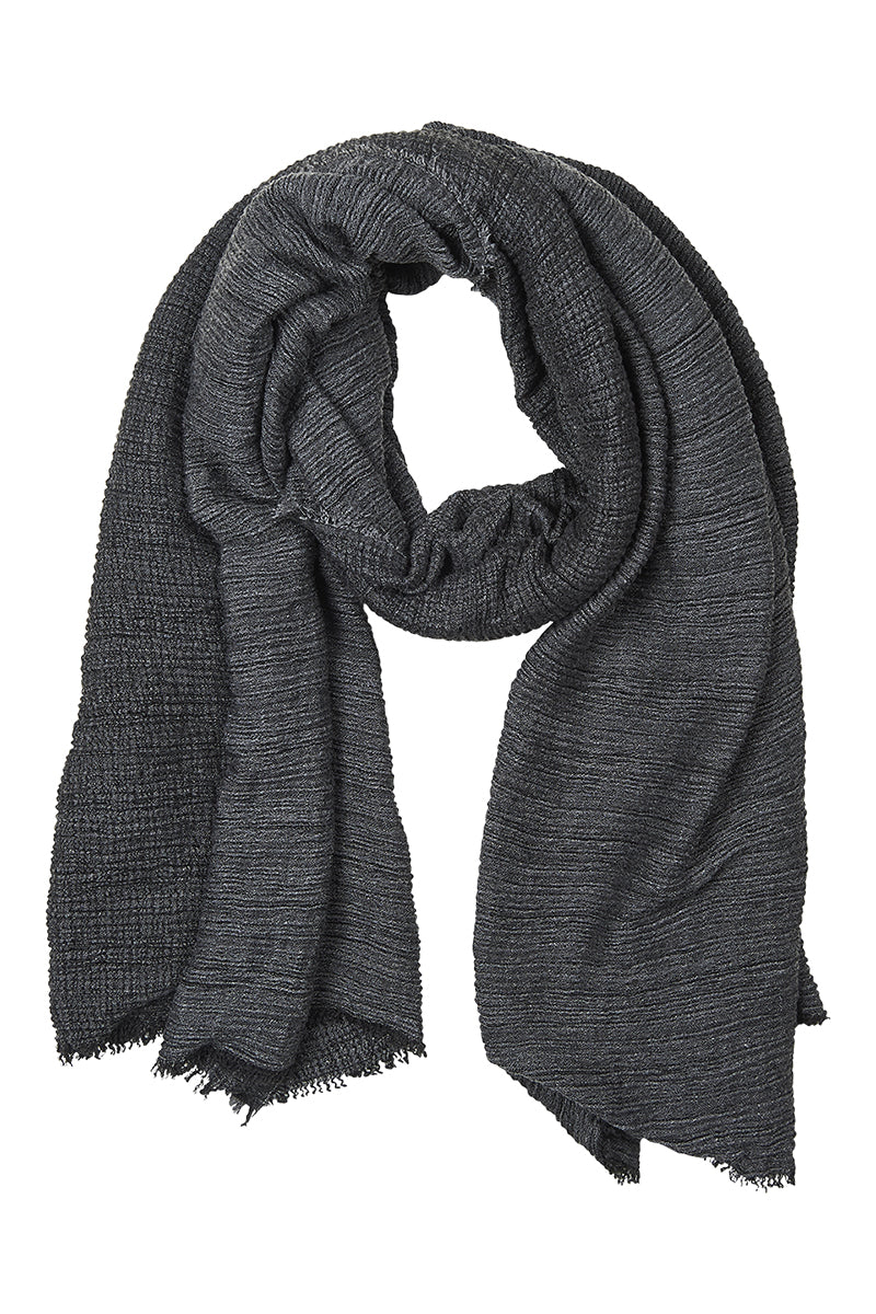 Mercia Scarf - Charcoal - Isle of Mine Scarves