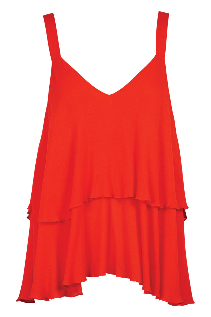 Riviera Tank - Rouge - Isle of Mine Clothing - Top Sleeveless