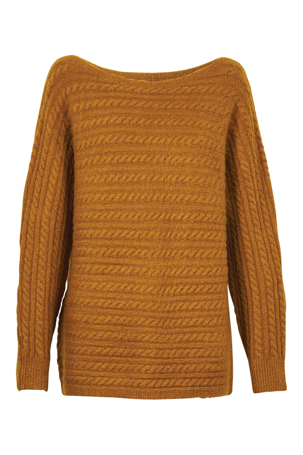 Cozy Knit - Saffron - Isle of Mine Clothing - Knit Jumper