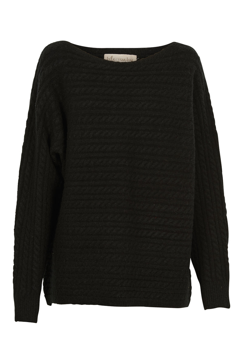 Cozy Knit - Black - Isle of Mine Clothing - Knit Jumper