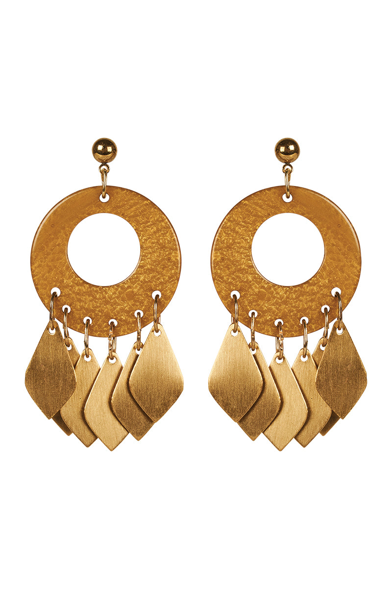 Eve Earring  - Saffron - Isle of Mine Earring