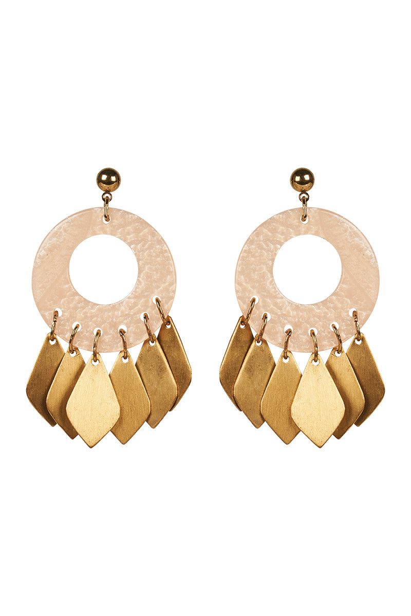 Eve Earring  - Blush - Isle of Mine Earring